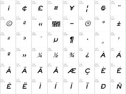 Download Free Eyechart Font Free Eyechart Bold Italic Ttf