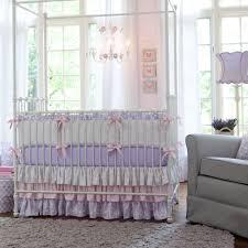 Lavender Nursery Nursery Beddings Shabby Chic Crib Bedding Lavender Plus Shabby