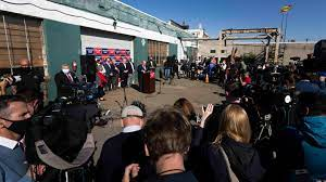 Whether on television or, more recently, at four seasons. Why Did Rudy Giuliani Hold A Press Conference In A Small Car Park On The Outskirts Of Philadelphia