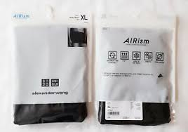 Alexander Wang Size Chart Details About Uniqlo X Alexander Wang Men Airism Boxer Briefs Nwt 415928 Black Xl