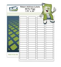 Avery Return Address Labels 8167