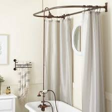 clawfoot tub hand shower conversion kit d style shower ring