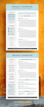 4 Page Resume Template Package Resume Cover Letter