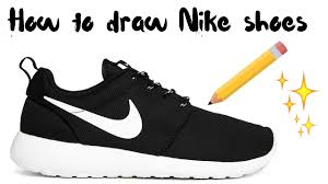 nike shoes drawings. nike shoes drawings youtube