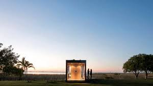 Off The Grid Prefab Homes Mapa Architects Tiny Minimod House Is A Led Lit Prefab Home For