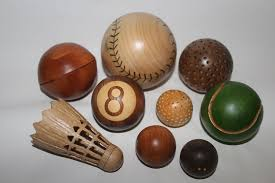 picture of wooden spheres 6 diffe ways sport ball theme