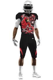 Street Free – Uniforms Uniform Roc Football Cardinals Team