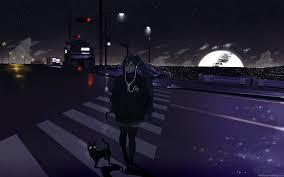 1920x1200 kuroshitsuji ciel wallpaper for android. Anime Hd Wallpapers Hd Widescreen Desktop Wallpapers Vocaloid Wallpaper Night 1920x1200 Download Hd Wallpaper Wallpapertip