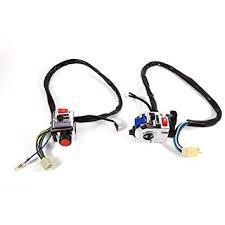1 <b>Pair</b> Motorcycle Handlebar Switch Control, <b>Aluminum</b> Universal <b>7</b> ...