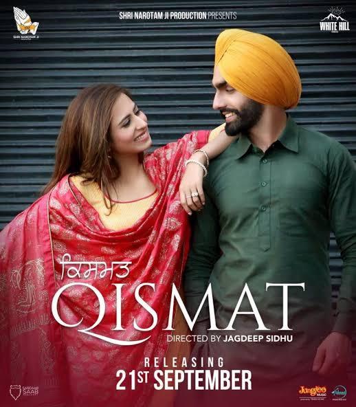 Qismat (2018) Punjabi 720p,480p HDTVRip x264 AAC [1GB,350MB] Full Punjabi Movie