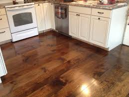 Wooden Floors In Kitchen Amusing Wood Flooring Or Laminate Which Is Best For Kitchen