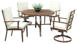 full size of belleville 40 inch square patio dining table for 4 key west 5 piece