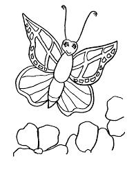 Coloriage De Papillon Imprimer