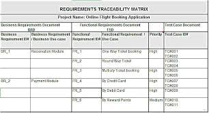 requirements traceability matrix templates requirements traceability matrix template example resume template