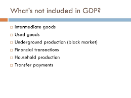 What Is Not Included In Gdp Ppt Whats In Gdp Powerpoint Presentation Id 352455