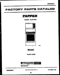 similiar tappan range model numbers keywords tappan range electric 5995228847 upper oven door parts model 73