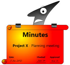 Project Meeting Minutes Template Impressive How To Write Minutes Of Meeting The Project Manager Pad