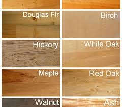hardwood flooring wood species