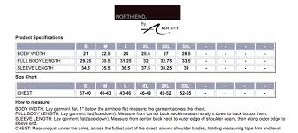 Ashworth Golf Size Chart The Graphic Edge Size Charts
