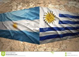 Uruguay and Argentina stock illustration. Illustration of action - 102453035