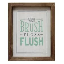 Art for bathroom Framed Stratton Home Decor brush Wall Decor Kohls Bathroom Decor Art Kohls