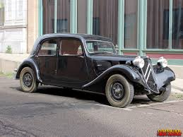 1937 Citroen Traction Avant: J'arrive! | GenHO