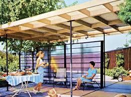 an openair patio cover mid century modern cover30 modern