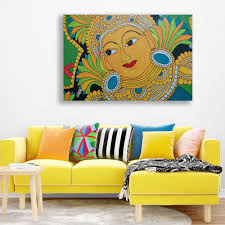canvas painting beautiful kerala mural art wall painting for living room bedroom
