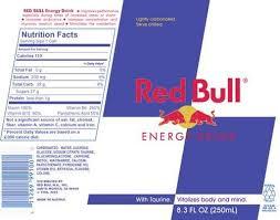 redbul energy drinks