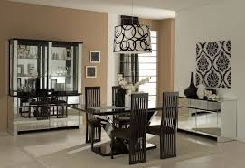 interior kitchen table centerpiece decorations. Use Stunning Dining Table Centerpieces And Black Chairs Inside Appealing Room With Mirrored Cabinets Interior Kitchen Centerpiece Decorations