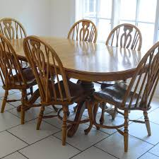 EBTHcom Richardson Brothers Oak Dining Table And Chairs