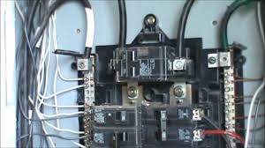 how to wire a 240 volt circuit see description youtube Wiring A Homeline Service Panel how to wire a 240 volt circuit see description Electrical Wiring Main Service Panel
