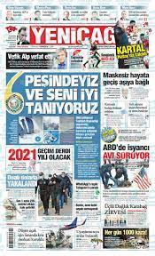 Günün Ulusal Gazete Manşetleri - 12 01 2021 foto galerisi