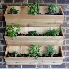 cedar wall planter free diy plans rogue engineer in herb wall planters renovation