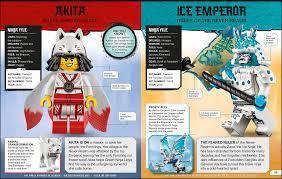 LEGO Ninjago Lexikon mit exklusiver Minifigur von Nya erscheint 2021