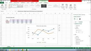 create line graph in excel how to create line graph in excel 2013 youtube