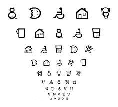 Child Eye Test Chart Caring For Your Childrens Eyes At First Optic