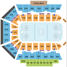 Bmo Harris Bank Center Seating Chart Rockford
