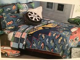 Authentic Kids VINTAGE CAR Bedding TWIN QUILT Sham Pillow Set NWT ... & Authentic Kids VINTAGE CAR Bedding TWIN QUILT Sham Pillow Set NWT Adamdwight.com