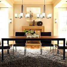 dining room chandelier size for room gallery lighting large contemporary chandeliers of dining modern ideas