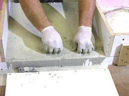 Concrete Sink Diy How To Build A Concrete Bathroom Countertop How Tos Diy