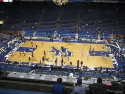 Rupp Arena Seating Chart Section 231 Rupp Arena Section 231 Kentucky Basketball Rateyourseats Com