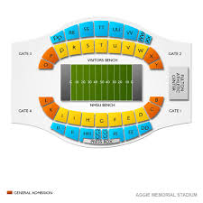 Tamu Football Seating Chart New Mexico State Aggies Football Tickets Ticketcity