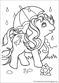 Ponies Coloring Pages Princess Pony Coloring Pages Princess Pony