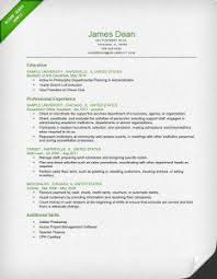 How To Write Up A Resume 8 Student Reverse Chronological Resume Sample