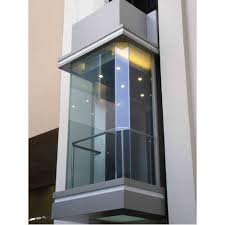 glass kone glass elevator rs 700000
