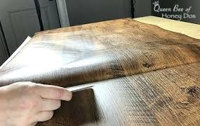laminate countertop contact paper an easy faux reclaimed wood table o queen bee of honey dos