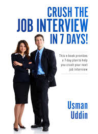 Job Interview Books Crush The Job Interview In 7 Days