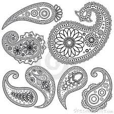 Simple Paisley Pattern