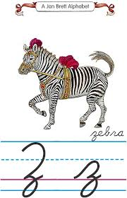 cursive z zebra